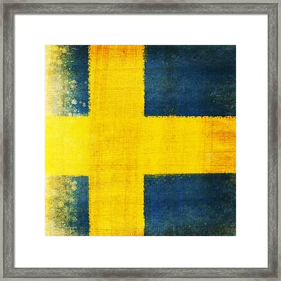 Swedish Flag Framed Print
