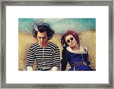 Sweeney Todd And Mrs. Lovett Framed Print