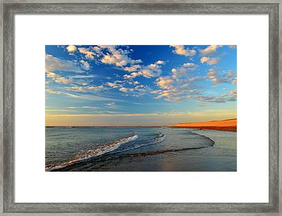 Sweeping Ocean View Framed Print