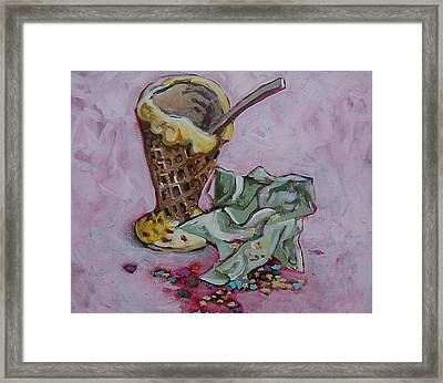 Sweet Afterglow Framed Print by Tilly Strauss