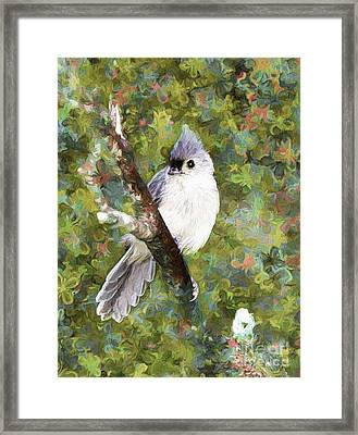 Sweet And Endearing Framed Print by Tina  LeCour