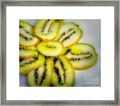 Sweet And Juicy Framed Print by David Millenheft