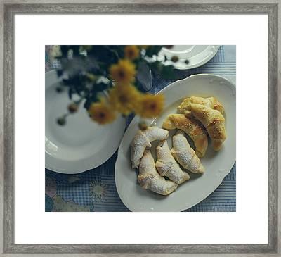 Sweet And Salty Framed Print by Marija Djedovic