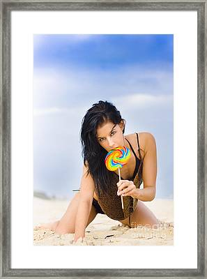 Sweet As Candy Framed Print