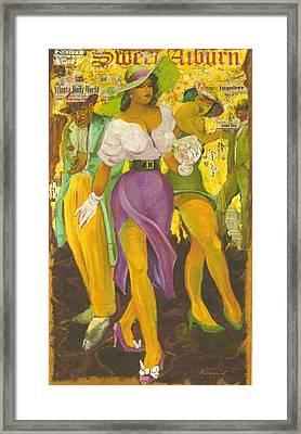 Sweet Auburn Framed Print