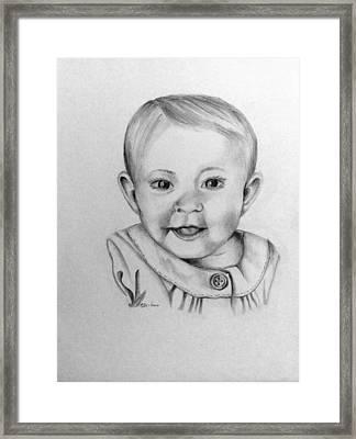 Sweet Baby Framed Print