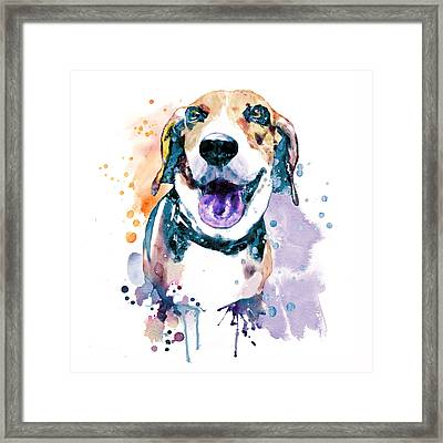 Sweet Beagle Framed Print