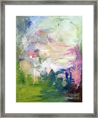 Sweet Breeze Framed Print
