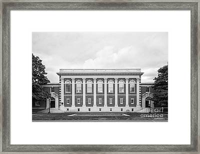 Sweet Briar College Cochran Library Framed Print