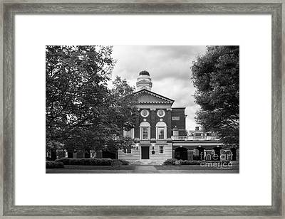 Sweet Briar College Pannell Cente Framed Print by University Icons