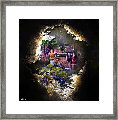 Sweet Cabernet 003 Framed Print