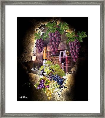 Sweet Cabernet 2 Framed Print