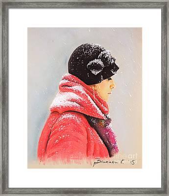 Sweet Caroline Framed Print by Katharina Filus