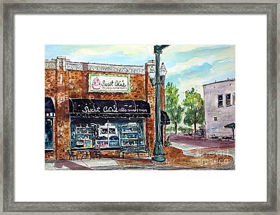 Sweet Ceces Franklin Framed Print by Tim Ross