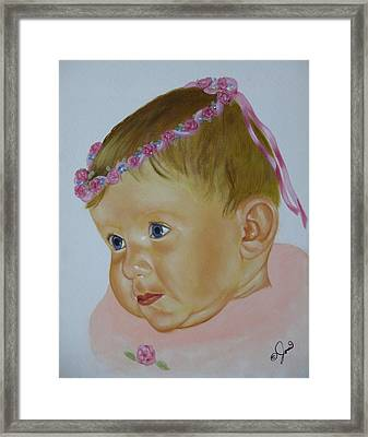 Sweet Child Framed Print by Joni McPherson
