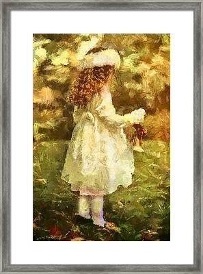 Sweet Child Of Innocent Joy Framed Print