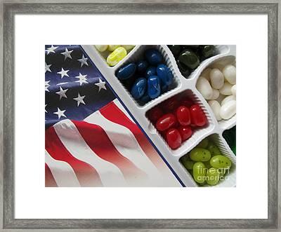 Sweet Colors Framed Print
