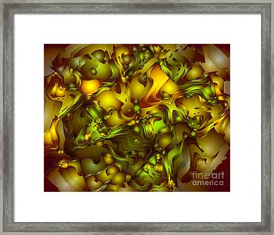 The Sweet Fantasy Framed Print by Moustafa Al Hatter