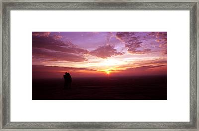 Sweet Contemplation Framed Print by Jason Vanhoy