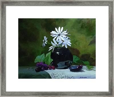 Sweet Daisies Framed Print
