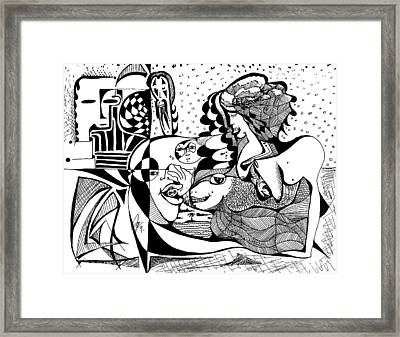 Sweet Dreams Framed Print by Jimmy King