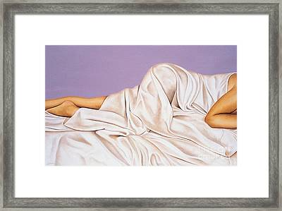 Sweet Dreams Framed Print by Lawrence Supino