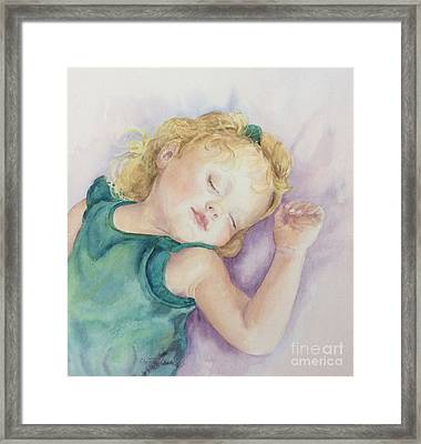 Sweet Dreams Lucy Framed Print