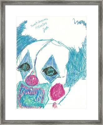 Sweet Dreams Framed Print by Theresa Rawlings