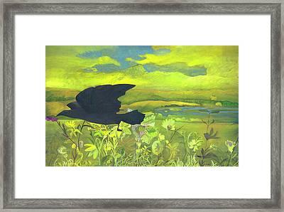 Sweet Final Flight Framed Print by Olga Stamatiou