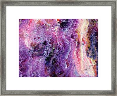 Sweet Fire In The Belly Framed Print