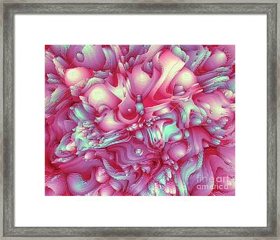 Sweet Flowers 2 Framed Print by Moustafa Al Hatter