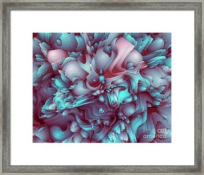 Sweet Flowers Framed Print by Moustafa Al Hatter