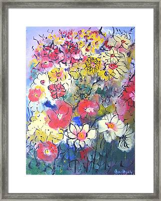 Framed Print featuring the painting Sweet Fragrance by Gary Smith