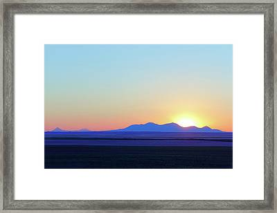 Sweet Grass Memories Framed Print by Todd Klassy