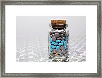 Sweet Happy Pills Framed Print by Afrodita Ellerman