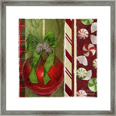 Sweet Holiday II Framed Print by Mindy Sommers