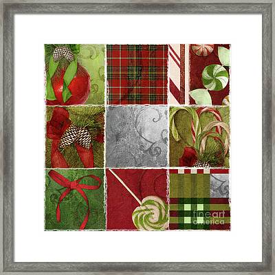 Sweet Holiday IIi Framed Print by Mindy Sommers