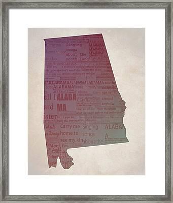 Sweet Home Alabama Framed Print
