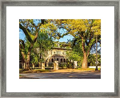 Sweet Home New Orleans 5 - Paint Framed Print by Steve Harrington
