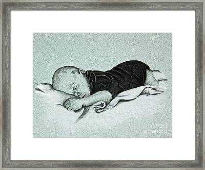 Sweet Innocence Framed Print