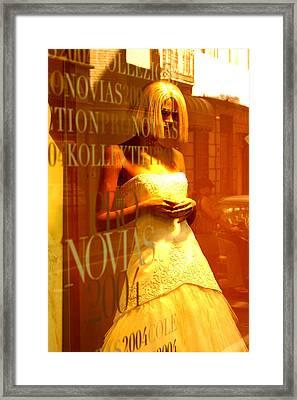 Sweet Jane 2 Framed Print by Jez C Self