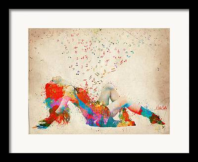 Bursting Color Framed Prints