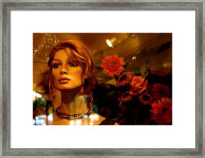 Sweet Julia Framed Print by Jez C Self