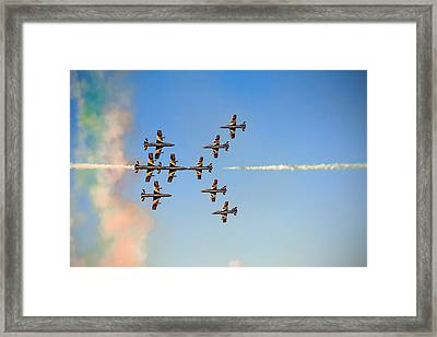 Sweet Kisses Framed Print by Gyula Szabo