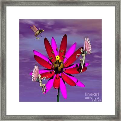 Sweet Larceny Framed Print