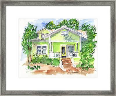 Sweet Lemon Inn Framed Print