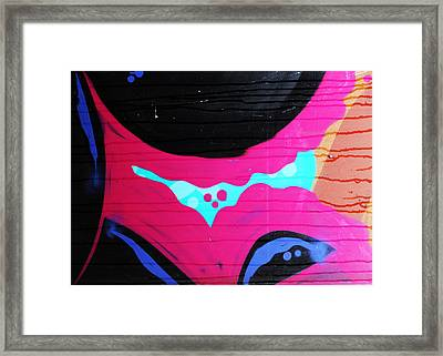 Sweet Lust Framed Print by Empty Wall