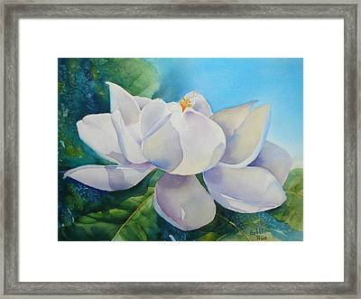 Sweet Magnolia Framed Print by Bobbi Price