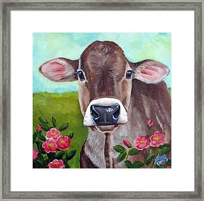 Sweet Matilda Framed Print by Laura Carey