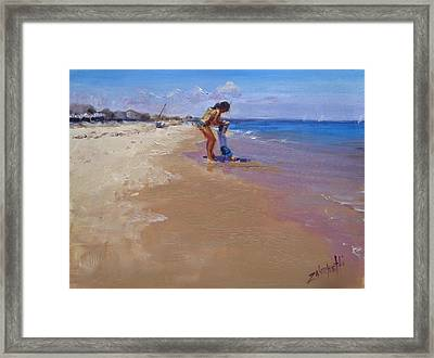 Framed Print featuring the painting Sweet Memories by Laura Lee Zanghetti